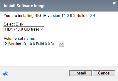 F5 Software Image